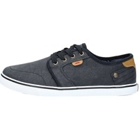 Chaussures Homme Baskets basses Wrangler WM181000 Basket Homme Black Black