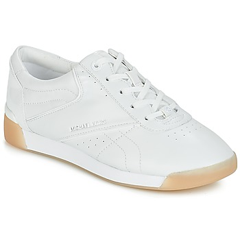 Chaussures Femme Baskets basses MICHAEL Michael Kors ADDIE LACE UP Blanc