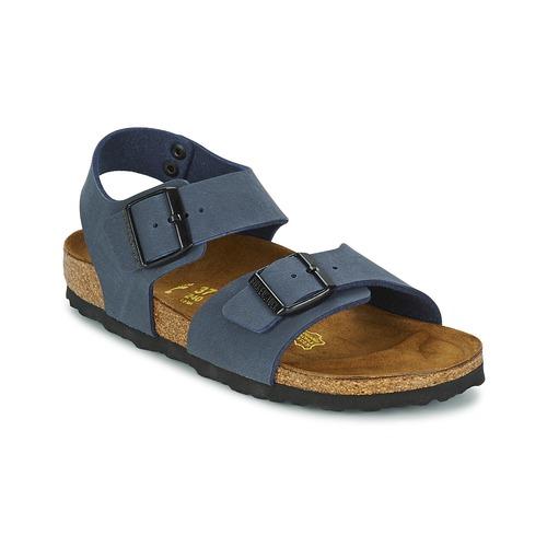 Chaussures Garçon Sandales et Nu-pieds Birkenstock NEW YORK Marine