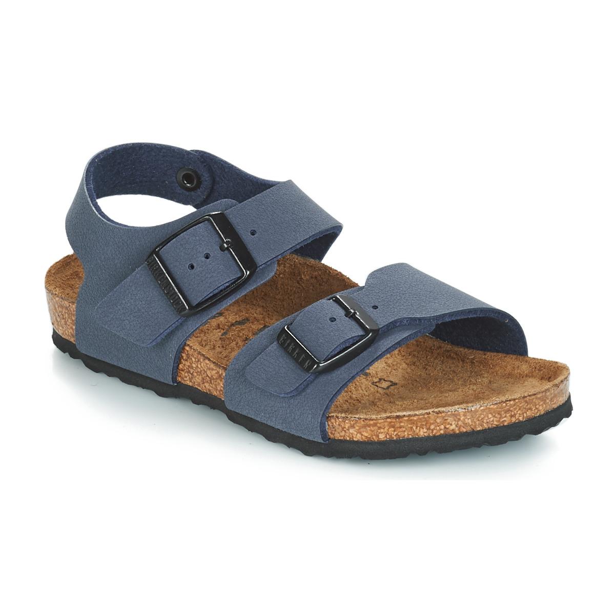 Sandale Birkenstock NEW YORK Bleu