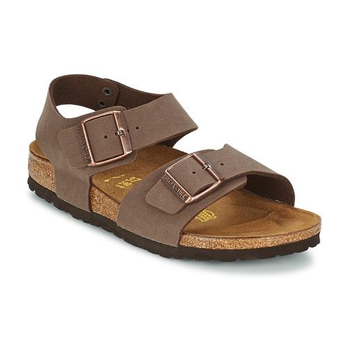 Chaussures Enfant Sandales et Nu-pieds Birkenstock NEW YORK Moka