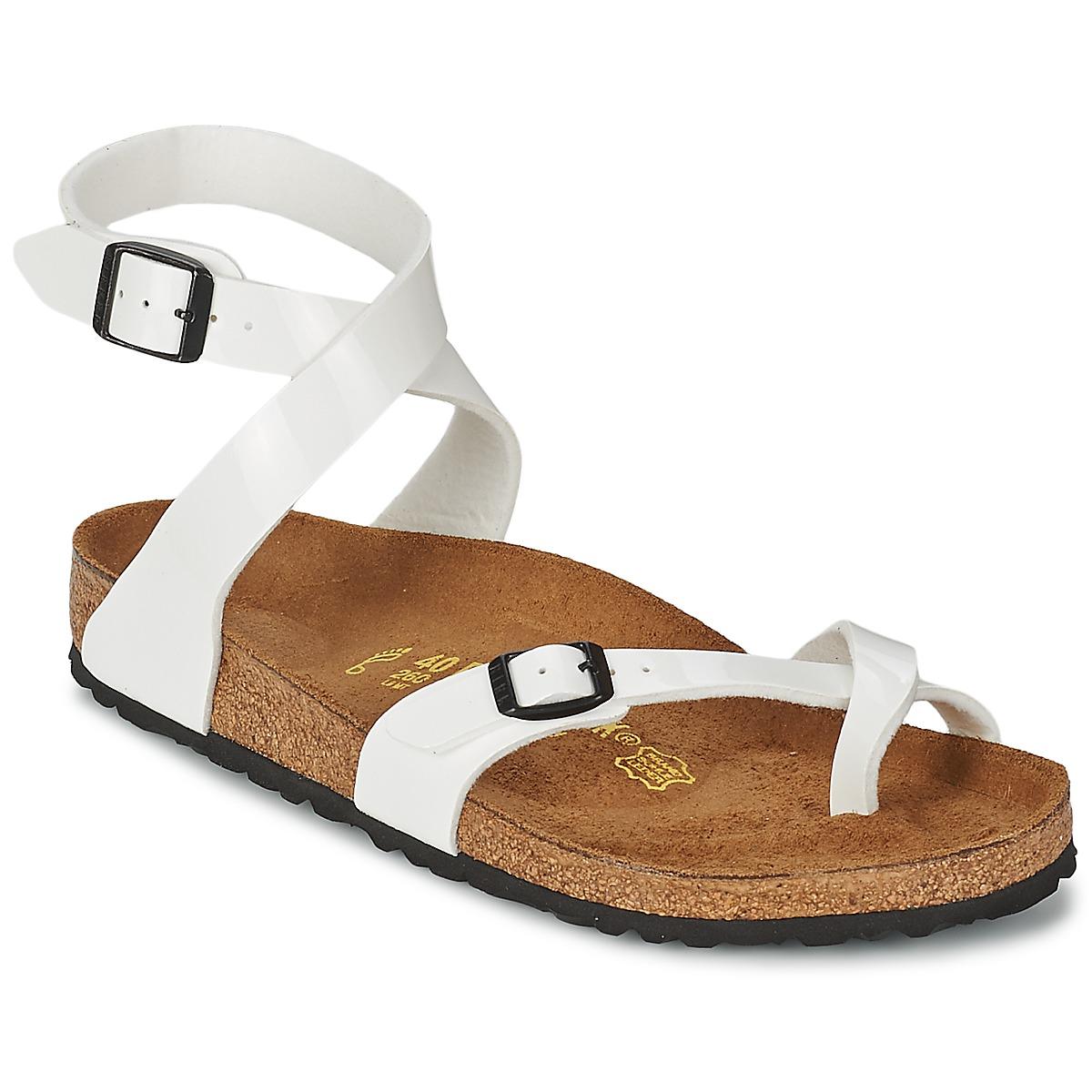 Sandale Birkenstock YARA Blanc