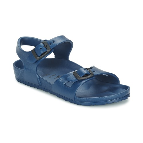 Chaussures Fille Sandales et Nu-pieds Birkenstock RIO EVA Marine