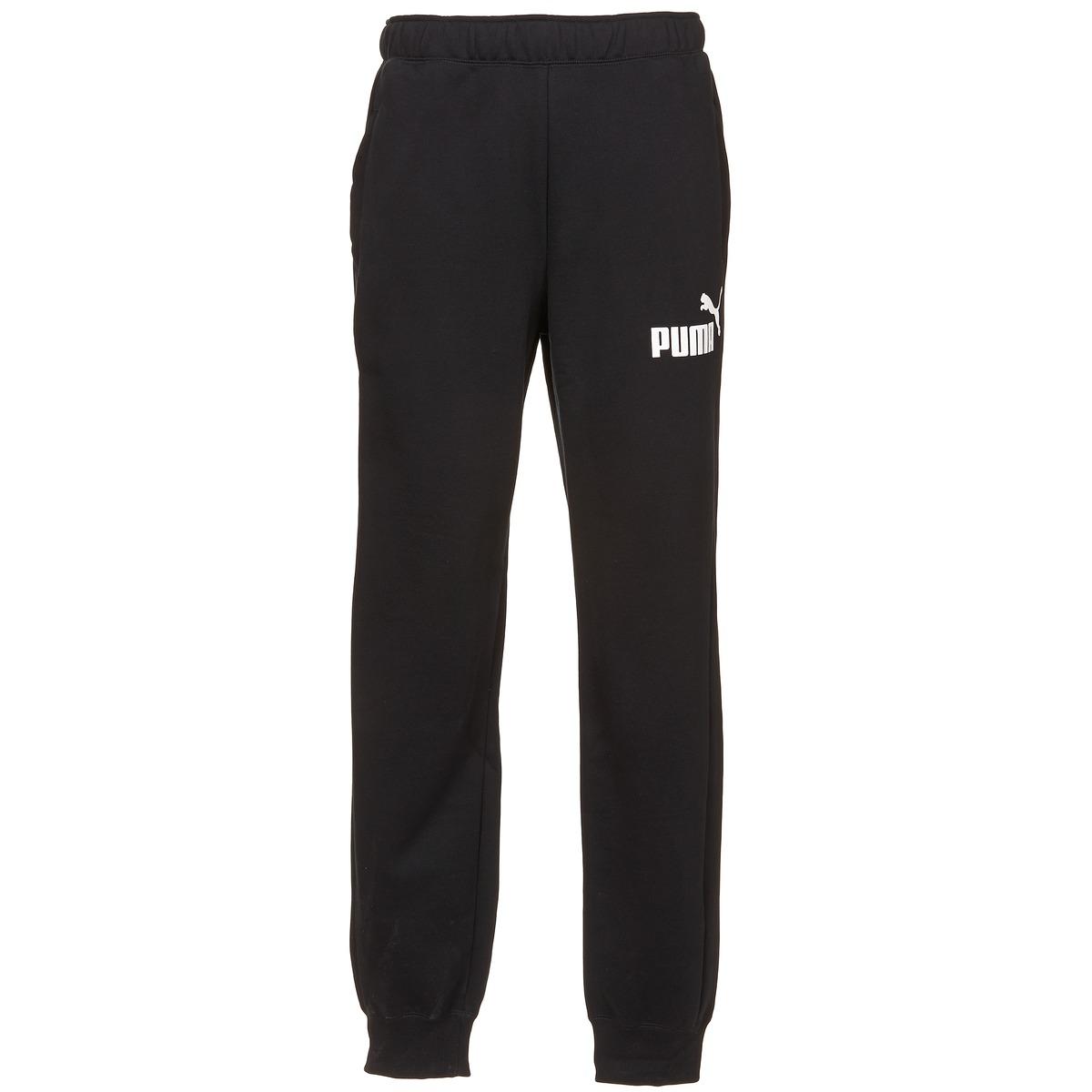 Joggings / Survêtements Puma ESS1 LOGO SWEAT PANTS Noir