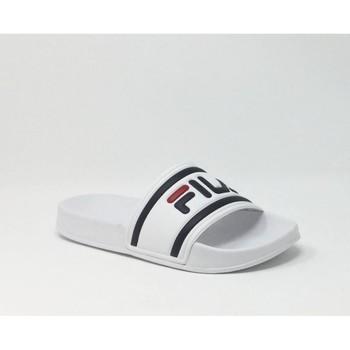 Chaussures Homme Claquettes Fila FILA MORRO BAY SLIPPER W BLANC Blanc