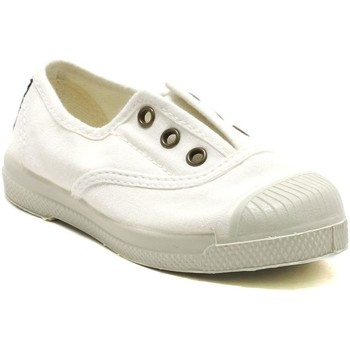 Chaussures Baskets basses Natural World 470E BLANC