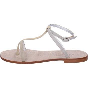 Chaussures Femme Sandales et Nu-pieds Eddy Daniele chaussures femme  sandales beige daim aw296 beige