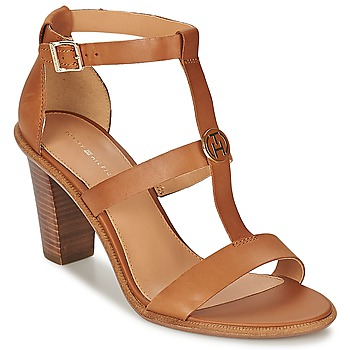 Chaussures Femme Sandales et Nu-pieds Tommy Hilfiger JOAN 7A Cognac