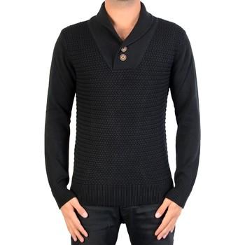 Vêtements Homme Pulls Deeluxe Pull  aero Noir