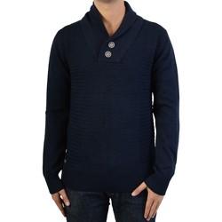 Vêtements Homme Pulls Deeluxe Pull  aero sw Bleu