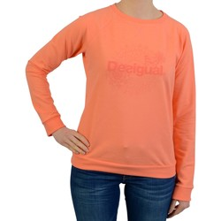 Vêtements Femme Sweats Desigual sweatshirt  sweat crew neck Orange