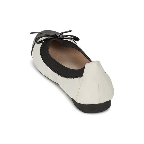 Femme BallerinesBabies Mood Blanc Noir Edoumi Moony l1cFJTK3