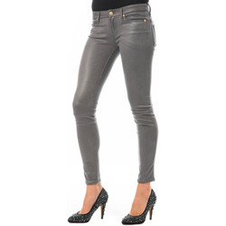 Vêtements Femme Jeans slim 7 for all Mankind Skinny  Dark Grey Gris