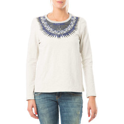 Vêtements Femme Pulls Color Block Pull  Gris Clair Gris