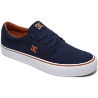 Chaussures Homme Chaussures de Skate DC Shoes TRASE TX navy camel Bleu