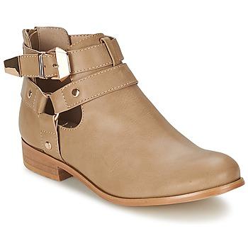 Bottines / Boots Moony Mood BEZAH Beige 350x350
