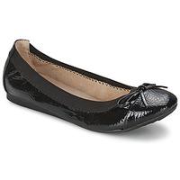 Chaussures Femme Ballerines / babies Moony Mood ELALA Noir verni