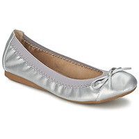 Chaussures Femme Ballerines / babies Moony Mood ELALA Argent