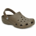 Chaussures Sabots Crocs CLASSIC CAYMAN Chocolat