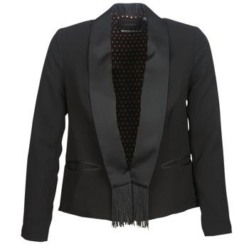 Vêtements Femme Vestes / Blazers Maison Scotch BOUKOUM Noir