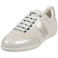 Chaussures Femme Baskets mode Geox Basket D Myria A Ivory Beige