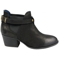 Chaussures Femme Bottines Schmoove Secret Chester Boots Noir Noir