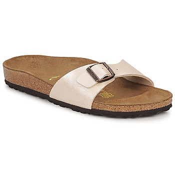 Chaussures Femme Mules Birkenstock MADRID Crème