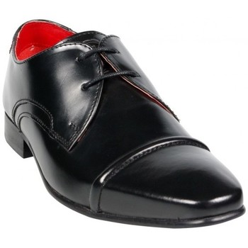 Chaussures Homme Derbies Base London Measure Noir Noir