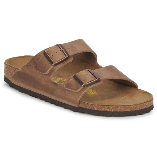 birkenstock arizona marron livraison gratuite avec chaussures mules homme 76 50. Black Bedroom Furniture Sets. Home Design Ideas