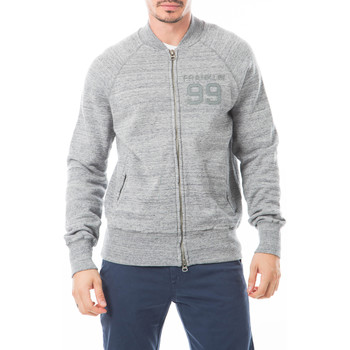 Vêtements Homme Sweats Franklin & Marshall Sweat Franklin And Marshall Gris Gris