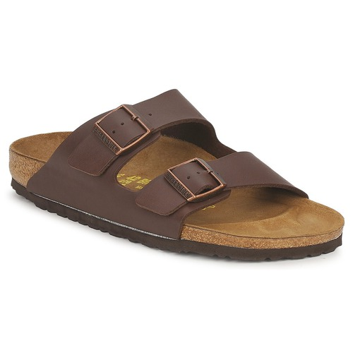 birkenstock arizona marron livraison gratuite avec chaussures mules homme 74 99. Black Bedroom Furniture Sets. Home Design Ideas
