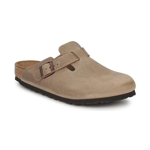 Chaussures Sabots Birkenstock BOSTON PREMIUM Marron