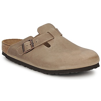 Chaussures Sabots Birkenstock BOSTON PREMIUM Marron