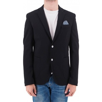 Vêtements Homme Vestes / Blazers Devid Label | GIACCA PUNTO MILANO | DVD_G525_NERO Noir