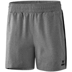 Vêtements Femme Shorts / Bermudas Erima Short femme  Premium One 2.0 gris chiné/noir