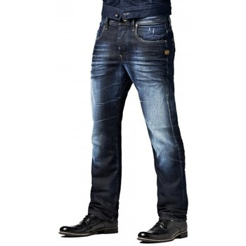 Jeans G-Star Raw Jean  Attacc Straight Hawk Denim Travis Wash