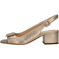 Chaussures Femme Sandales et Nu-pieds Mariano Ventre 5674SM Sandales Femme Platine Platine
