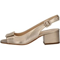 Chaussures Femme Sandales et Nu-pieds Mariano Ventre 5674S Sandales Femme Platine Platine