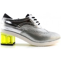 Chaussures Femme Derbies United nude Brogue silver Multicolore