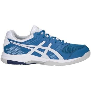 Chaussures Homme Baskets basses Asics Gelrocket 8 Blanc,Bleu