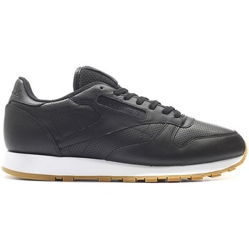 Chaussures Homme Baskets basses Reebok Sport Classic Leather PG Noir