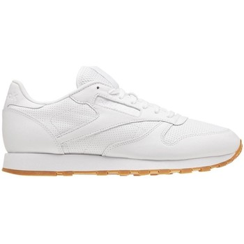 Chaussures Homme Baskets basses Reebok Sport Classic Leather PG Blanc