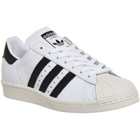 Chaussures Femme Baskets basses adidas Originals Superstar 80S Blanc