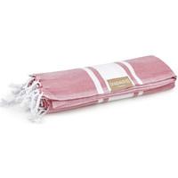 Accessoires textile Femme Echarpes / Etoles / Foulards Espadrij Plaid de plage  ref_esp43768 Rose 180*100 Rose