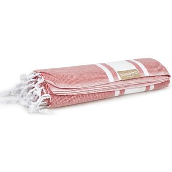 Accessoires textile Femme Echarpes / Etoles / Foulards Espadrij Plaid de plage  ref_esp43768 Rouge 180*100 rouge