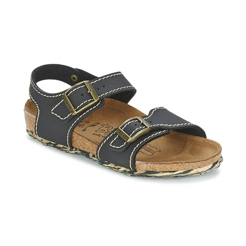 Chaussures Fille Sandales et Nu-pieds Birki's NEW YORK Neoprene Black