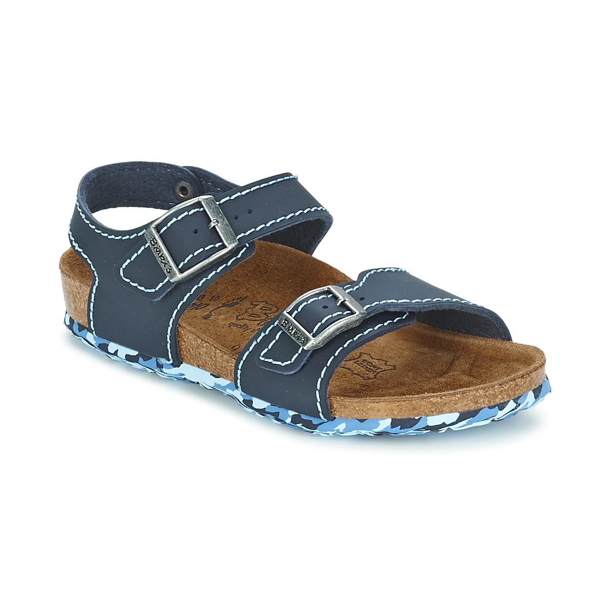 Sandale Birki's NEW YORK Neoprene Blue