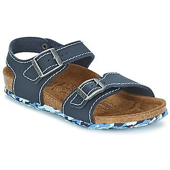 Sandale Birki's NEW YORK Neoprene Blue 350x350