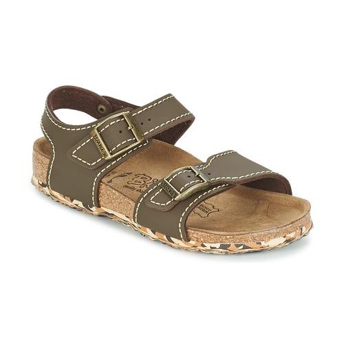 Sandale Birki's NEW YORK Neoprene Brown 350x350