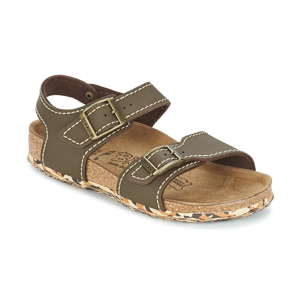 Sandale Birki's NEW YORK Neoprene Brown